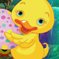 Free online flash games - G4k Infant Duck Rescue game - WowEscape