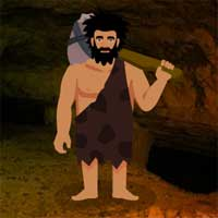 Free online flash games - Paleolithic Man Escape game - WowEscape