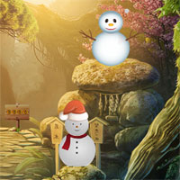 Free online flash games - 8b Christmas Santa Escape game - WowEscape