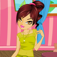 Free online flash games - New Party Dress up game - WowEscape