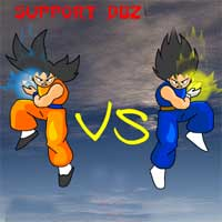 Free online flash games - DBZ Blood Rivals game - WowEscape