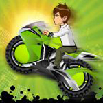 Free online flash games - Ben 10 Bike Adventure game - WowEscape