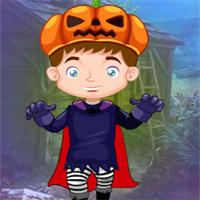 Free online flash games - G4K Little Pumpkin Boy Escape game - WowEscape