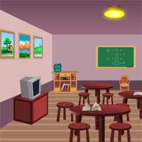 Free online flash games - School Hostel Escape game - WowEscape