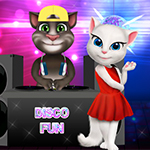 Free online flash games - Tom and Angela Disco Party game - WowEscape