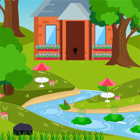 Free online flash games - AVMGames Escape River Forest game - WowEscape