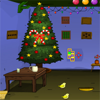 Free online flash games - Games4Escape Old Christmas House Escape game - WowEscape