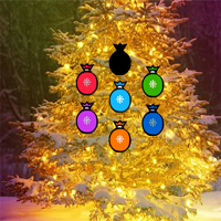 Free online flash games - Fantasy Christmas Tree Forest Escape game - WowEscape