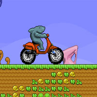 Free online flash games - Shark Moto Mobil game - WowEscape