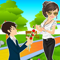 Free online flash games - Marriage Proposal game - WowEscape