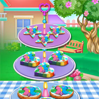 Free online flash games - Colorful Cookies Cooking Wowsomegames game - WowEscape