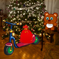 Free online flash games - Christmas Toys House Escape