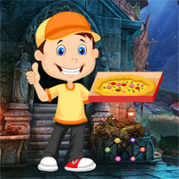 Free online flash games - G4K Pizza Delivery Boy Rescue game - WowEscape