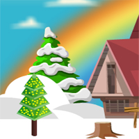 Free online html5 games - Winterland Easter Bunny Rescue game