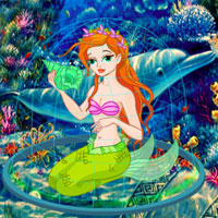 Free online flash games - Escape Game Save The Mermaid game - WowEscape