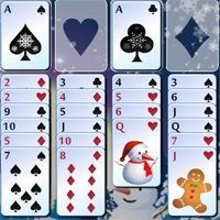 Free online flash games - Freecell Christmas game - WowEscape