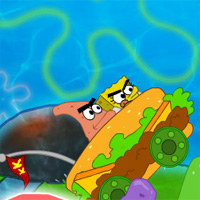 Free online flash games - Spongebob Squarepants Bike Gamesseason game - WowEscape