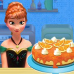 Free online flash games - Anna cooking Cheese Cake game - WowEscape