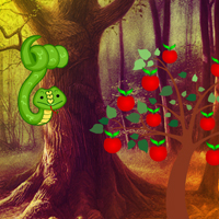 Free online flash games - Big Adam and Eve Land Escape game - WowEscape
