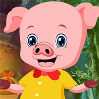 Free online flash games - Piglet Rescue game - WowEscape