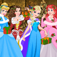 Free online flash games - Disney Princess Christmas Eve game - WowEscape
