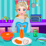 Free online html5 games - Elsa Bunny Snap Juice game
