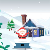 Free online flash games - 8b Snow Globe Santa Escape game - WowEscape