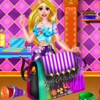 Free online flash games - Rapunzel DIY Purse Decor game - WowEscape