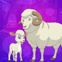 Free online html5 games - G4K Sheep And Lamb Escape game