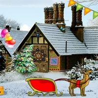 Free online flash games - YolkGames Rescue Santa With Christmas Gifts game - WowEscape
