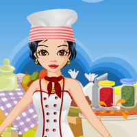 Free online flash games - Chef Girl Dress Up game - WowEscape
