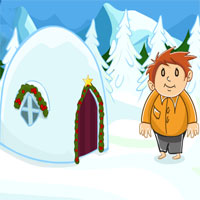 Free online flash games - Snow Land Christmas game - WowEscape