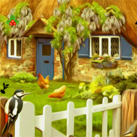Free online flash games - Thanksgiving Farm House Escape