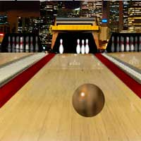 Free online flash games - Bowling Town game - WowEscape