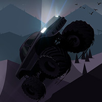 Free online flash games - Monster Truck Shadowlands game - WowEscape