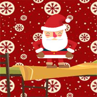 Free online flash games - 8b Little SnowBoy Escape