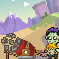 Free online html5 games - Zombies Head Up game