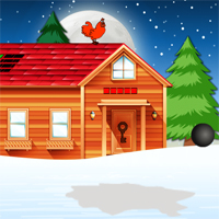Free online flash games - Games2Jolly Snow Cabin Key Escape game - WowEscape