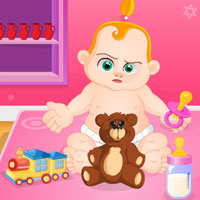 Free online flash games - Escape from Naughty Baby Wowescape game - WowEscape