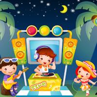 Free online flash games - Kids World-Hidden Stars game - WowEscape