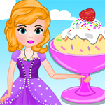 Free online flash games - Sofia Cooking Cake Batter Ice Cream game - WowEscape