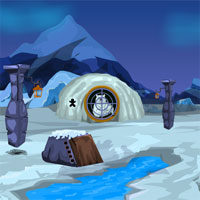Free online flash games - Games4Escape Iceland Bear Rescue game - WowEscape