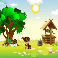 Free online flash games - Pets Summer Jolly Day game - WowEscape