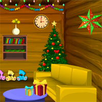 Free online html5 games - Games4Escape Christmas Happy Celebration Escape game