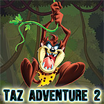 Free online flash games - Taz Adventure 2 game - WowEscape