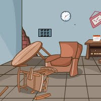 Free online flash games - GenieFunGames Collapsed Room game - WowEscape