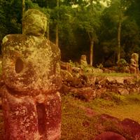 Free online flash games - Big Statue Land Escape game - WowEscape