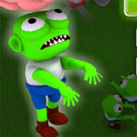 Free online html5 games - Zombies vs Brains game