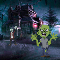 Free online flash games - Big Zombie Land New Year Escape game - WowEscape