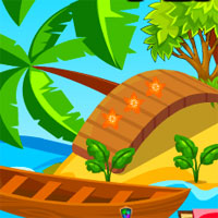 Free online flash games - AVM Peaceful Beach Escape game - WowEscape